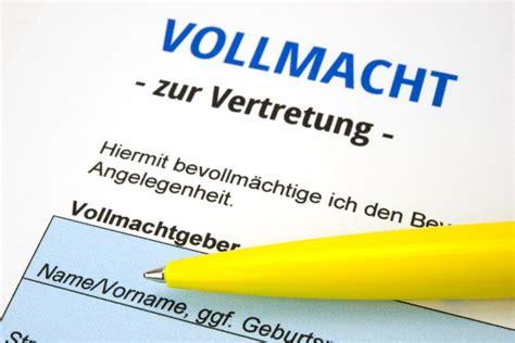 Kfz Versicherung Ndern Vorlage by Vollmacht F 252 R Die K 252 Ndigung