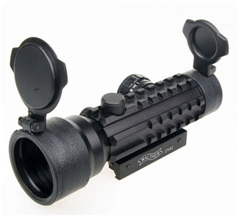 Laser Scope Senapan Green Dot Bore Sight 窶 outdoor 2x42mm green dot rifle rifle scope sight 竭ヲ with with 20mm weaver pica tri