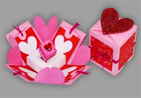 le selbst basteln schmuckschachtel mit herz f 252 r den valentinstag