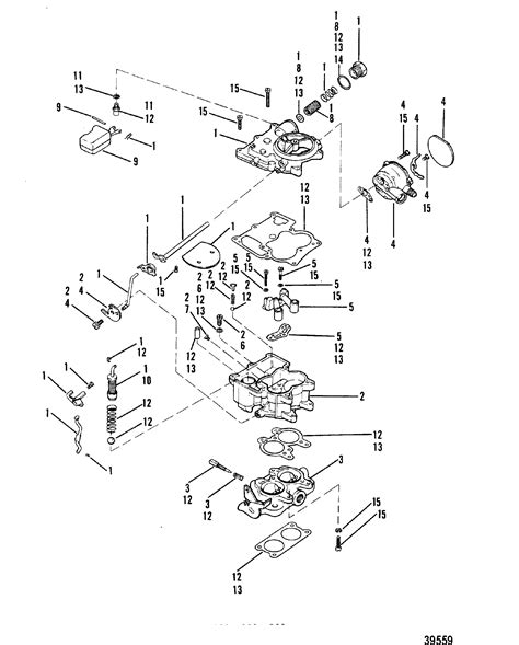 2 barrel carburetor diagram carburetor rochester 898 2 barrel for mercruiser 898 200