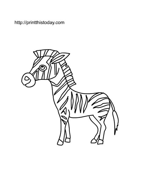 tiger without stripes coloring page coloring pages ideas
