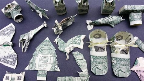 Origami Boot Dollar Bill - money origami various designs dollar bill v 5