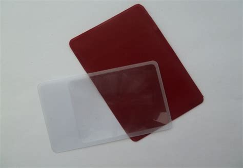 lens card card magnifier