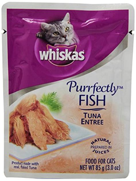 Cat Food Acis Cat Tuna 8kg whiskas purrfectly fish tuna entree cat food pouches 3 oz