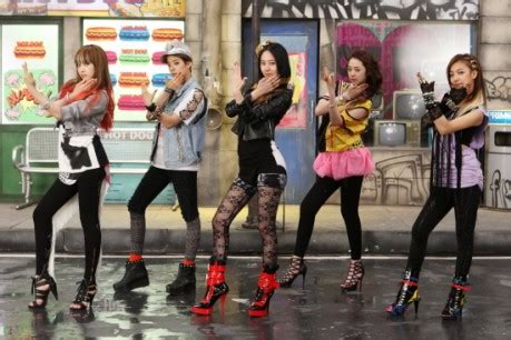 dance tutorial nu abo f x f x brings some nu abo to inkigayo allkpop com