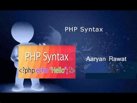 php tutorial hindi php syntax in hindi part 2 php tutorial syntax php by