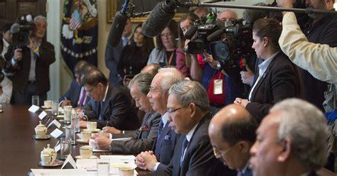 donald trump malaysia trump meets with malaysia s prime minister
