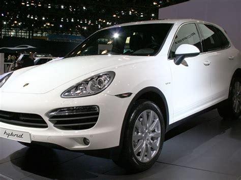 Porsche Cayenne Truck by 2011 Porsche Cayenne S Hybrid Makes American Debut