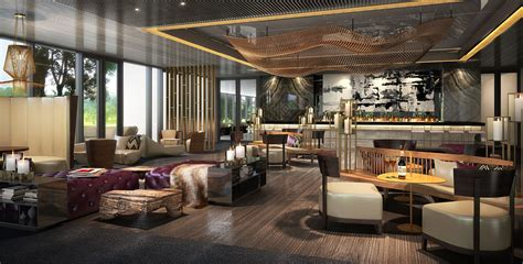 Lounge Bar, Speciality Restaurant and Clubhouse Lounge at ...