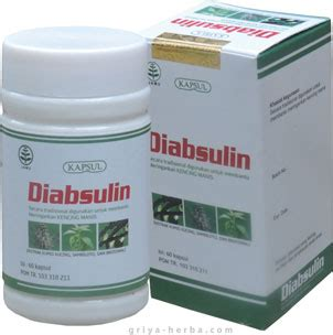 Insulo Herbal Kencing Manis Diabetes Melitus 60 Kapsul diabsulin kapsul diabetes elfata store