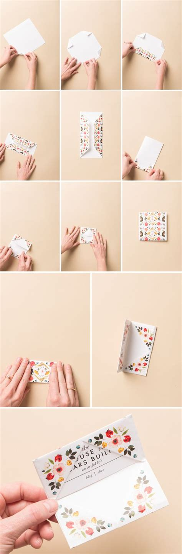 tutorial origami card print make origami business card holder gift card
