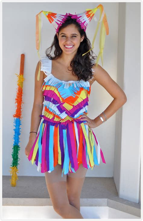 most awesome homemade pinata costume ever easy last minute costume ideas for adults