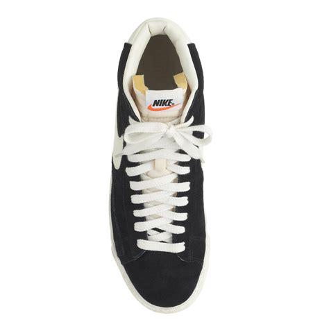 nike blazer high suede vintage sneakers j crew s nike blazer high suede vintage sneakers in
