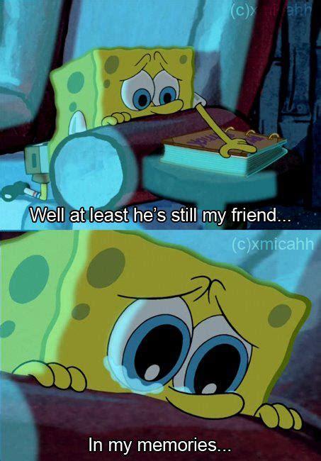 Sad Spongebob Meme - spongebob image 2106666 by lady d on favim com