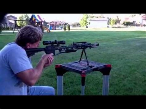 pse tac 15 crossbow first shoot youtube