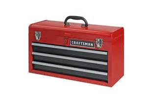 craftsman 3 drawer portable tool chest