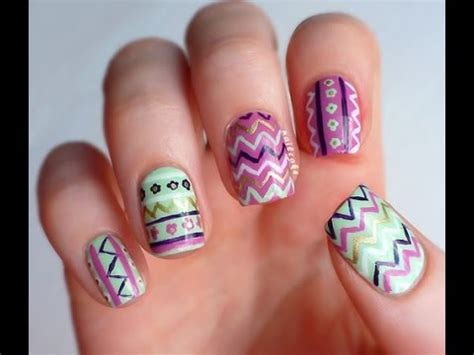 Imagenes De Uñas Decoradas Ala Moda 2015 | u 209 as decoradas 2014 youtube