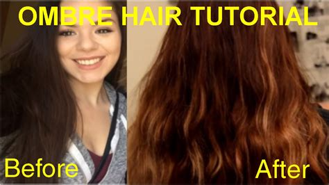 youtube tutorial ombre ombre hair tutorial youtube