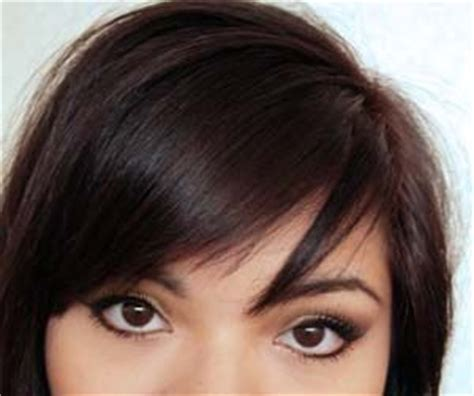 tutorial on cutting bangs side swept side swept bangs and bangs on pinterest