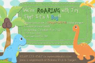 the fast freebie friday dinosaur baby shower invitation