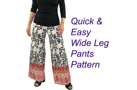 sewing pattern for palazzo pants phoenician pullon pants sewing pattern wide leg palazzo pants