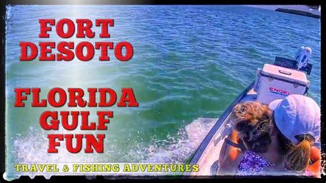 fort desoto boat r exploring fort desoto state park in a gheenoe boat fort