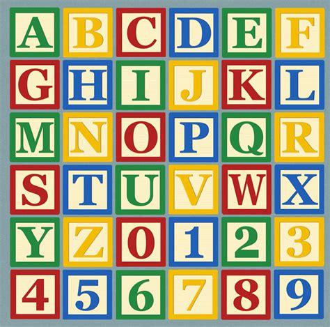 Childrens Letter Blocks