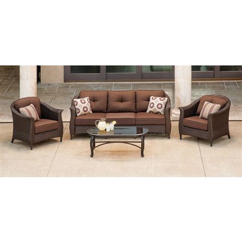 walmart outdoor sectional 7pc outdoor patio garden wicker furniture rattan sofa set