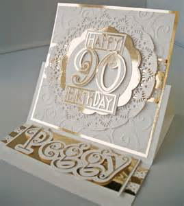 julie s inkspot 90th birthday card