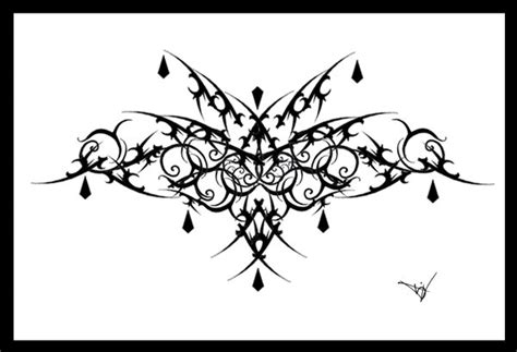 lace pattern tattoo template gothic lace print filigree 007 by quicksilverfury on