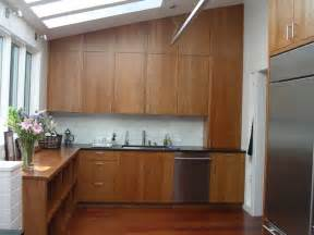 kitchen backsplash cherry cabinets solid cherry cabinets marble subway tile backsplash