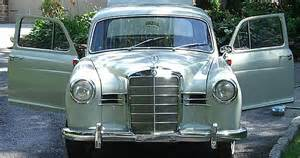 Mercedes For Sale In Maryland 1958 Mercedes 180 For Sale Lutherville Maryland