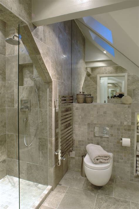 bathrooms in attic spaces renovate your small bathroom into a luxurious airy space