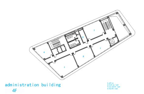 admin building floor plan gallery of liyuan middle school minax architects 17