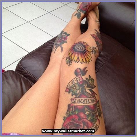 rose knee tattoo awesome tattoos designs ideas for and amazing