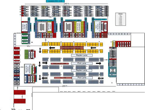 Warehouse Layout And Slotting Warehouse Design Warehouse Layout Warehouse Slotting Slotting Agi Warehouse Rack Layout Excel Template