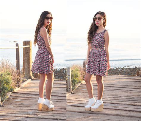 Strutt Couture Judy Studded Platform Shoe At Asos Shoewawa by Rosa Pekkanen Tricot Mesh Shirt H M Top