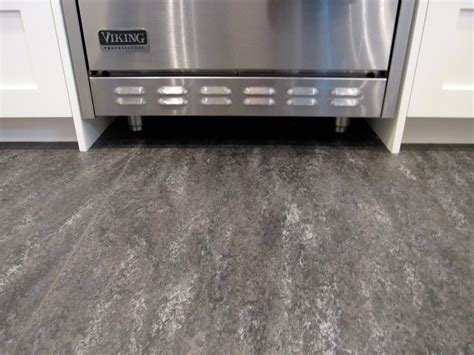 grey marmoleum floor kitchen ideas