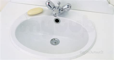 Armitage Shanks Vanity Units by Armitage Shanks Galaxy S260001 510mm Two Tap Holes V Basin