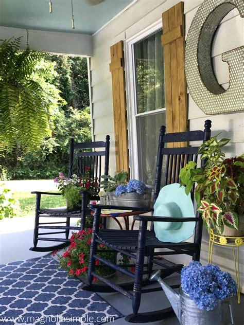 Haint Blue Porch Ceiling Magnolia Simple