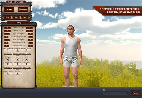 unity tutorial character customization release umazing an in game uma character creator