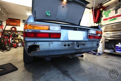 bmw e28 front bumper bmw e28 bumper conversion