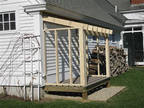building  firewood shed  concord carpenter