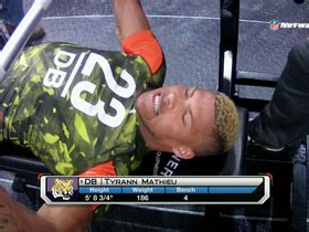 manti te o bench press tyrann mathieu bench press nfl videos