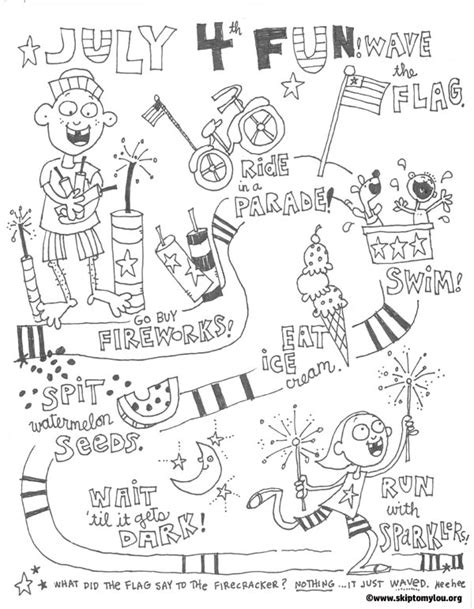 fourth of july coloring pages fourth of july coloring pages skip to my lou