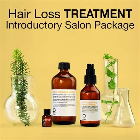 hair loss expert stylists portland organic salon products oway hair loss scalp care package