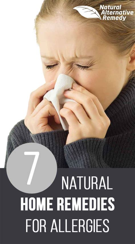 7 proven home remedies for allergies and hay fever