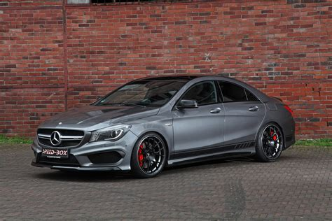 facelifted mercedes amg cla   horsepower injection