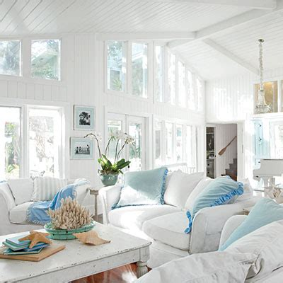 seaside home decor inspirations on the horizon white coastal rooms