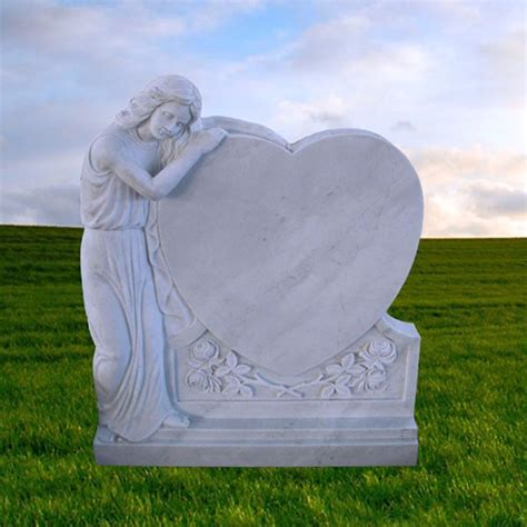 Angel White Marble Grave Headstones Price   Buy Marble